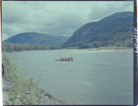Raft Race, North Thompson River Near Little Fort