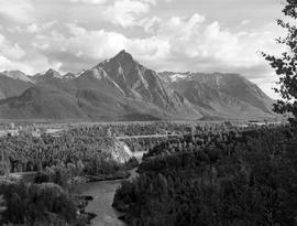 Mount Roche de Boule and Bulkley Canyon, Hazelton
