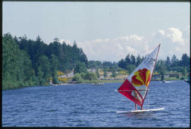 Windsurfing Elk Lake Park
