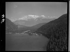 Aerial Of Cowichan Bay