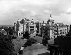 Rear Of The Legislative Buildings, Victoria