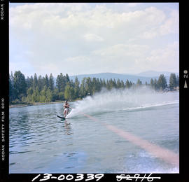 Waterskiing At Wasa Lake