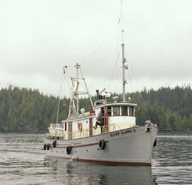 Forest Service; launches Poplar III and Oliver Clark II.