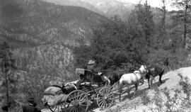 Stagecoach on the Lytton Road