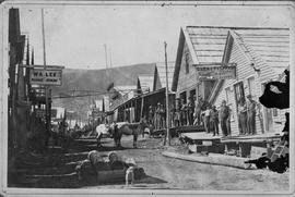Barkerville main street before the fire