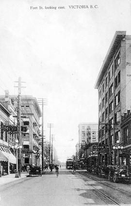 """Fort Street Looking East."""
