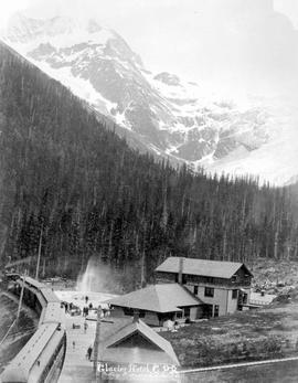 The Canadian Pacific Railway's Glacier Hotel.