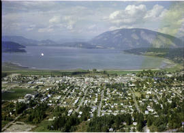 Aerial Of Salmon Arm