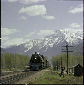 The Royal Hudson East Of Revelstoke