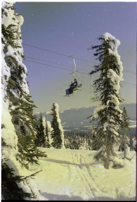 Chairlift Big White Kelowna
