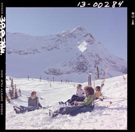 Skiing At Snow Valley, Fernie
