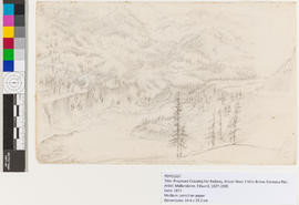 Proposed Crossing For Railway, Fraser River 1 Mile Below Siskeyou Flat.