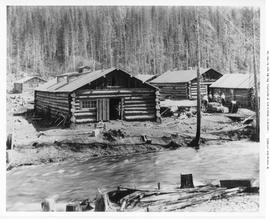 Chase. Adams River Lumber Co. Logging Camp
