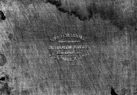 [Sketchbook - Maker Imprint On Front Cover: G.R. Rowney And Co.  Patent 7268 Whatman Paper Ring B...