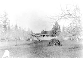 The home of William Veitch, Sr., the first house on Gorge Road travelling east from Craigflower S...