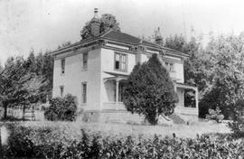 Charles James Keighley's home at Departure Bay.