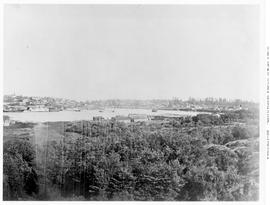 View of Victoria from the Songhees land; see F-08553 to F-08556.