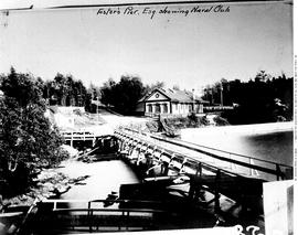 Foster's Pier And Royal Navy Club, Esquimalt.