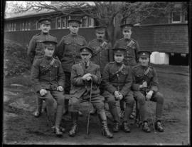 Soldiers of the CASC pose at Work Point Barracks