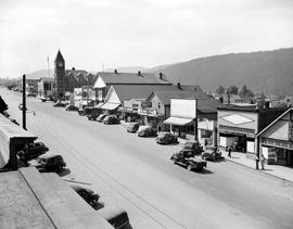 Port Alberni Downtown Area
