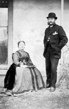 Governor and Mrs. Frederick Seymour.