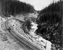 Kicking Horse River west of No. 1 switch; Macmunn No. 292.