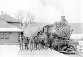 """First passenger train to enter Port Alberni."""