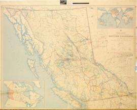 British Columbia / Department of Lands and Forests ; compiled and drawn by the Geographic Divisio...