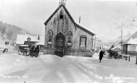 Lorna Boyd Going To St. Saviour's Church, Barkerville