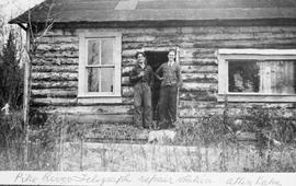 """Pike River telegraph repair station, Atlin Lake."""