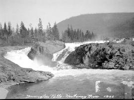 Bonnington Falls on the Kootenay River.