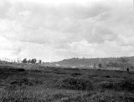 """Indian encampment, Stoddart Creek Valley, Section 3, Township 86, Range 20""; Pacific G..."