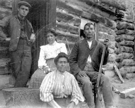 John Tetlanetza and family; of Lillooet.