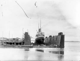 """GTP SS Prince George in dry dock - Prince Rupert, BC""; the Prince George was built in ..."