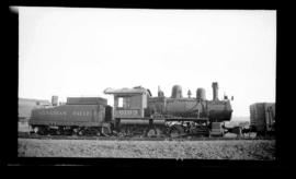0-6-0, No. 6103, Switcher; Drake Street yard, Vancouver.