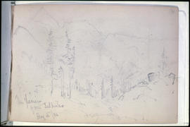 Sketch 7A: The Glacier Of The Selkirks.