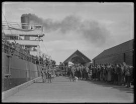 Chinese Labour Corps boarding M.S. Dollar