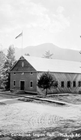 """Canadian Legion Hall, Nakusp, BC."""