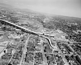 Vancouver. Aerial Of The Granville Bridge
