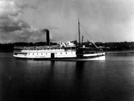 The CP SS City of Nanaimo...