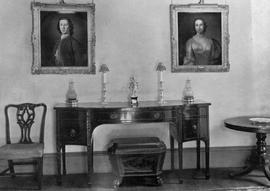 Interior of Cary Castle; Government House, Victoria
