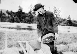All Sooke Day; gold panning demonstration.