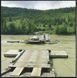 Cable Ferry At Soda Creek