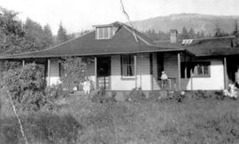 The Proust home; Chemainus.
