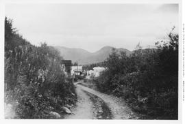 The Old Cariboo Road Entering Barkerville.