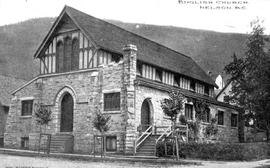 """English Church, Nelson, BC""; the first St. Saviour's Anglican Church."