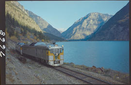 Pacific Great Eastern dayliner at Seton Lake