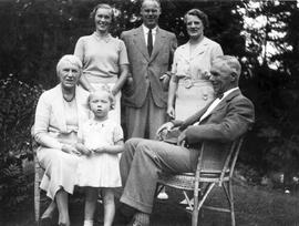 Mr. and Mrs. H.G. Wilson and family
