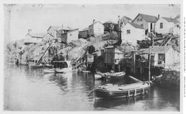 Shanties Along Victoria Harbour.