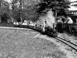 Vancouver; Miniature Railway In Stanley Park.